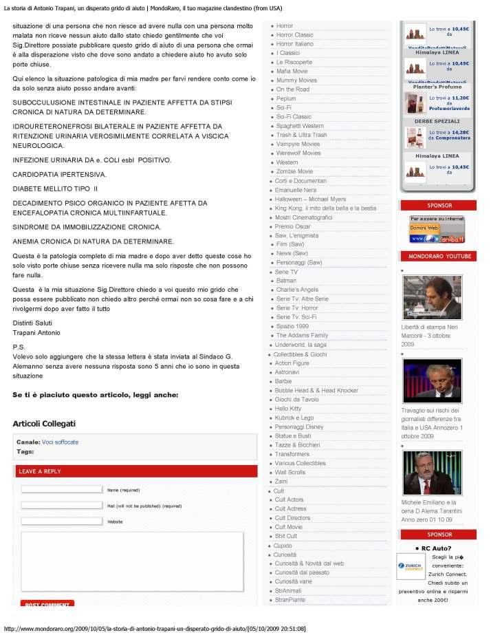 Lettera da un disoccupato_ chiede solo assistenza sanitaria dal Comune di Ro_Page_1_Page_3